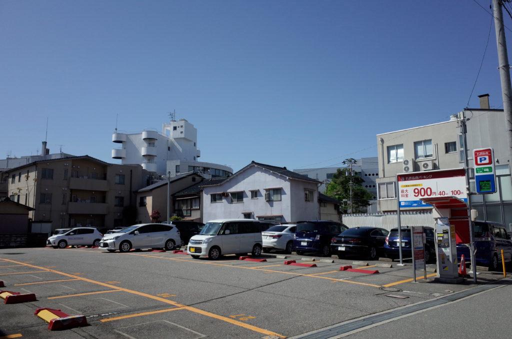 こうこ鍼灸院 駐車場2